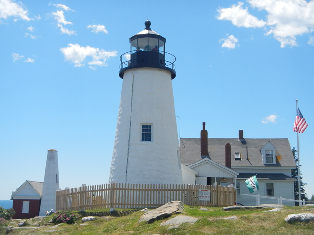 Pemaquid Lighthouse and bell tower
