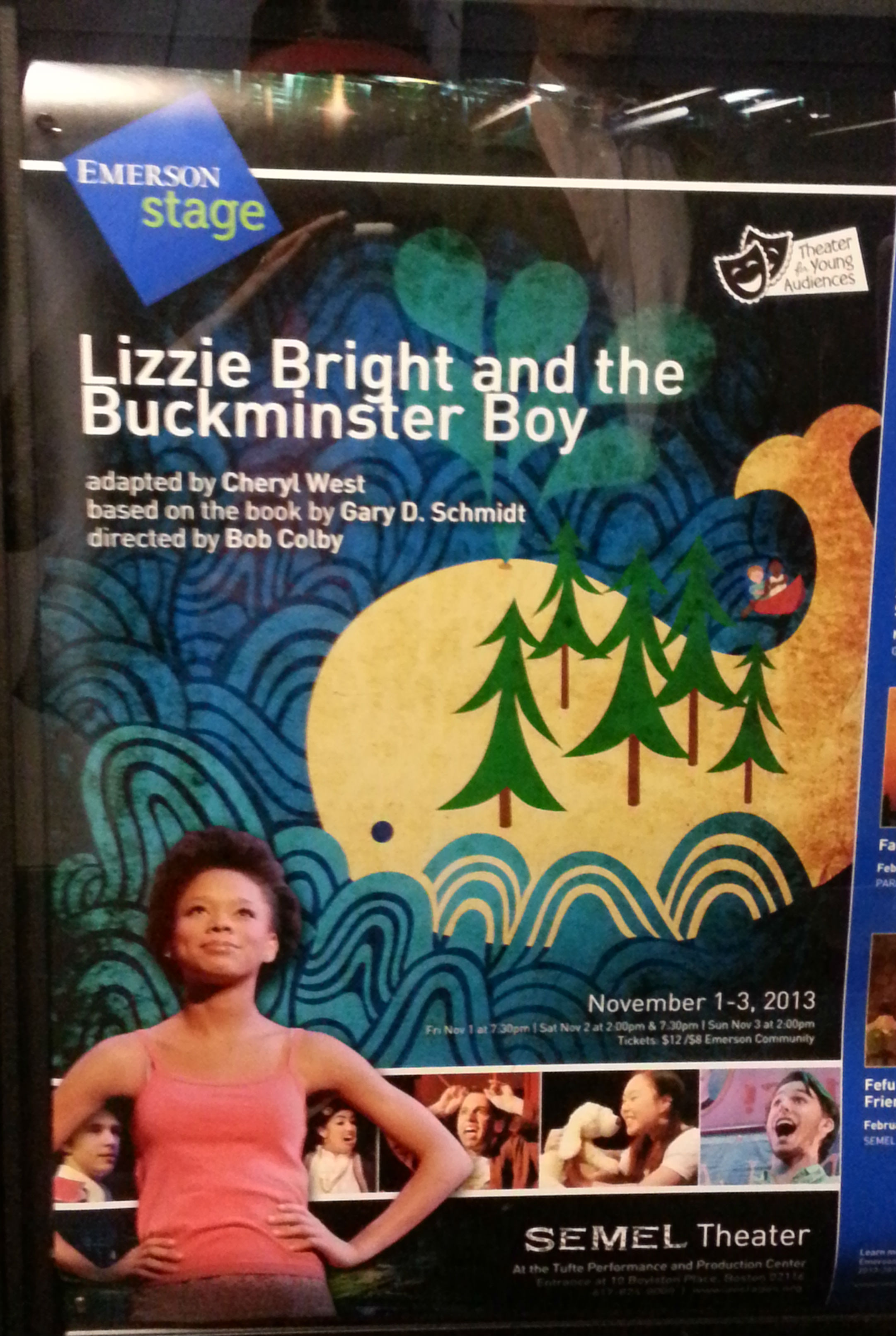 2013-11-02 Lizzie Bright and the Buckminster Boy Poster