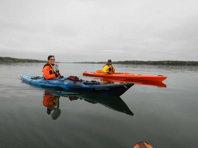 KR sea kayaking