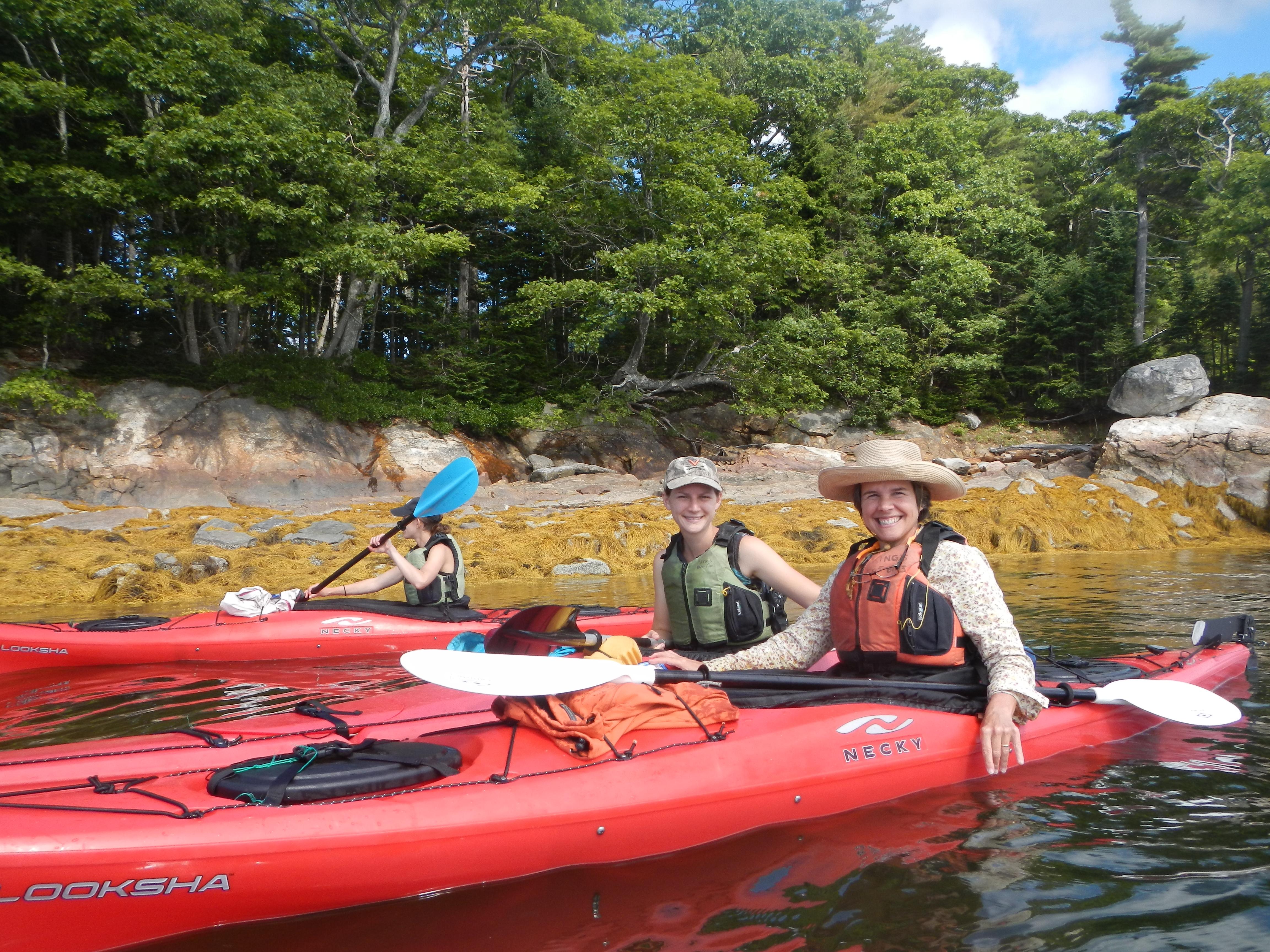 Group paddle photo