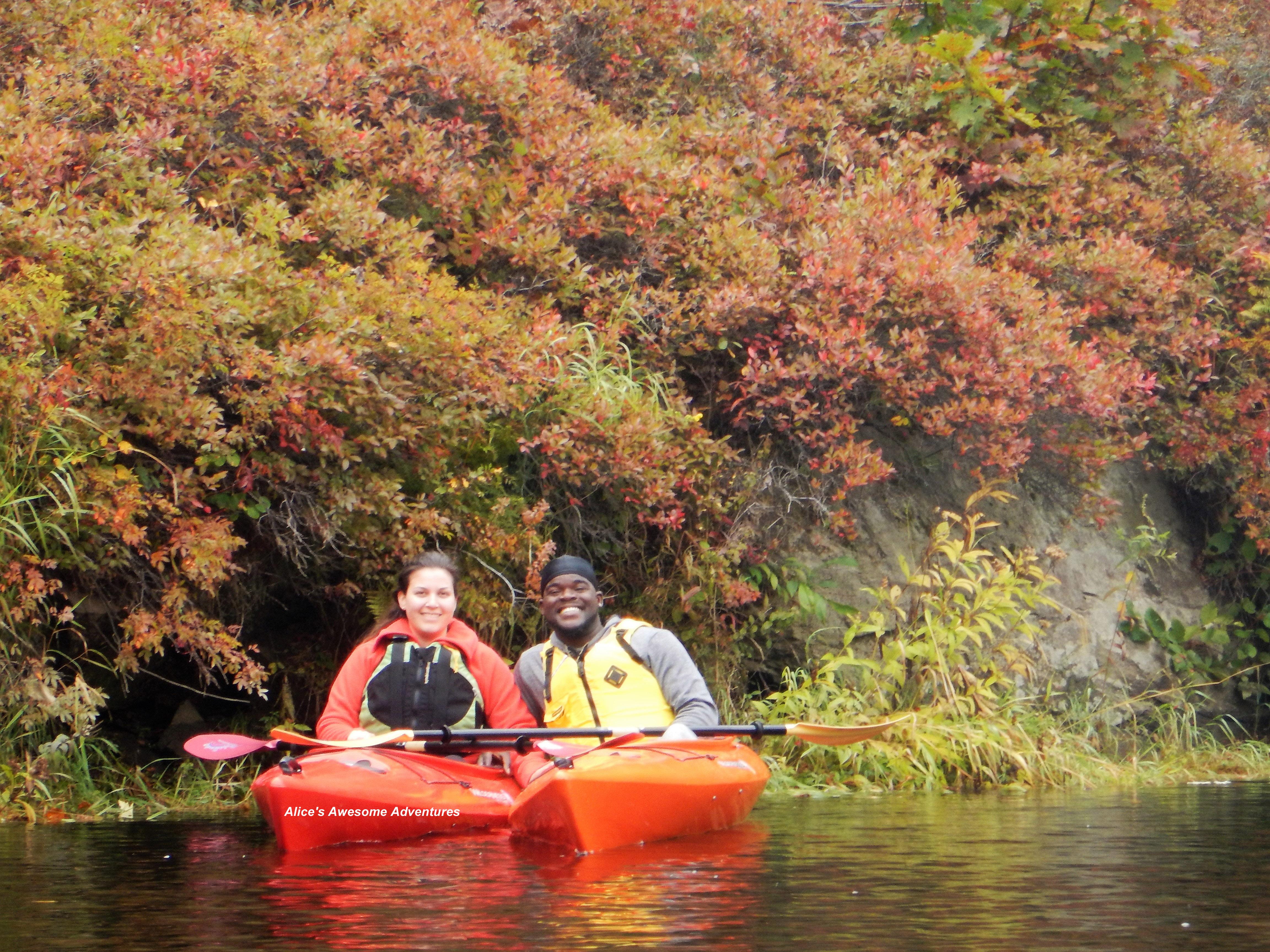 Lower Androscoggin River in Fall