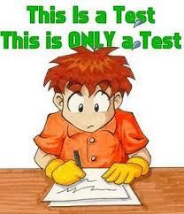 Test taking image
